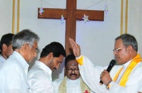 Christian conversions in Andhra Pradesh have gained government support under Chief Minister Jagan Mohan Reddy